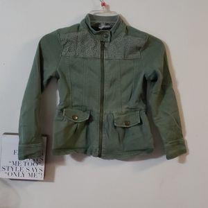Crazy 8 full zip lightweight jacket